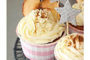 Herbstliche Apfel-Zimt-Cupcakes