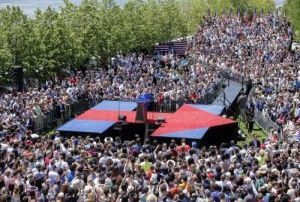 Hillary Clinton 2016 campaign rally – live coverage http://www.theguardian.com/us-news/live/2015/jun/13/hillary-clinton-campaign-rally-new-york