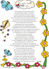Poesia per la mamma maestra mary mother 39 s day pinterest for Maestra mary recite natale