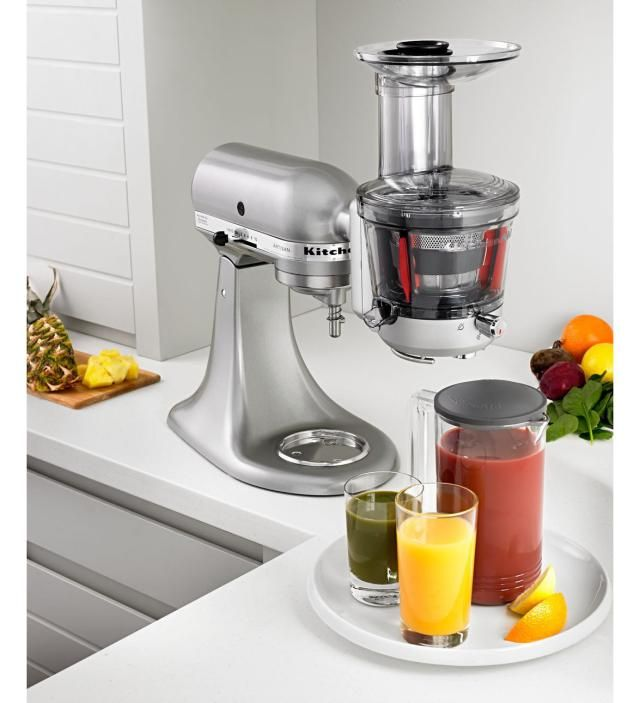 KitchenAid Stand Mixer Accessories You Didn't Know You Needed: Slow Juicer Attachment