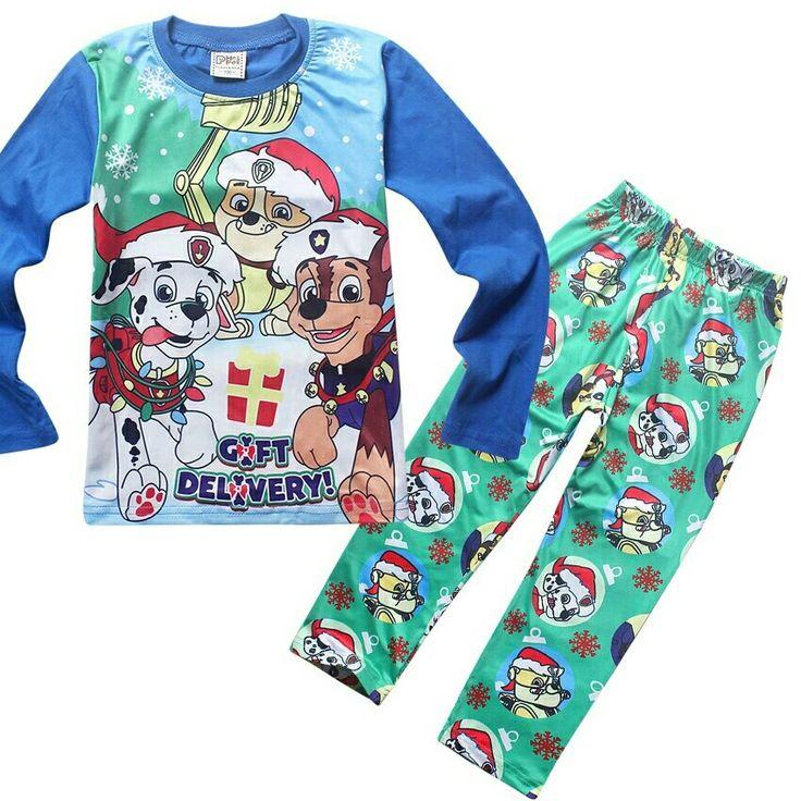 Paw patrol christmas pajamas