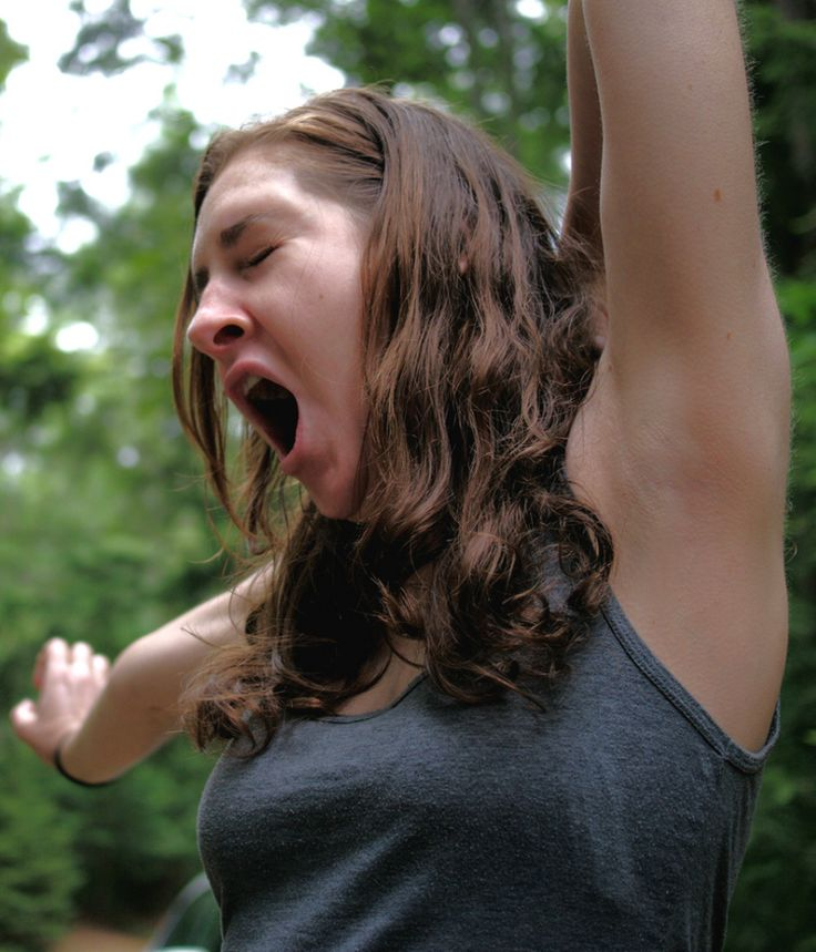 Scientists believe that humans yawn as a way to cool our brains.