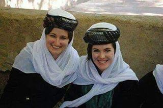 Yazidi Women in their traditional Attire.