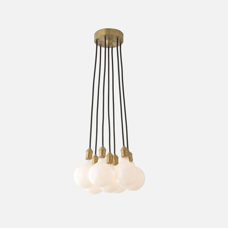Brass City 7 Chandelier