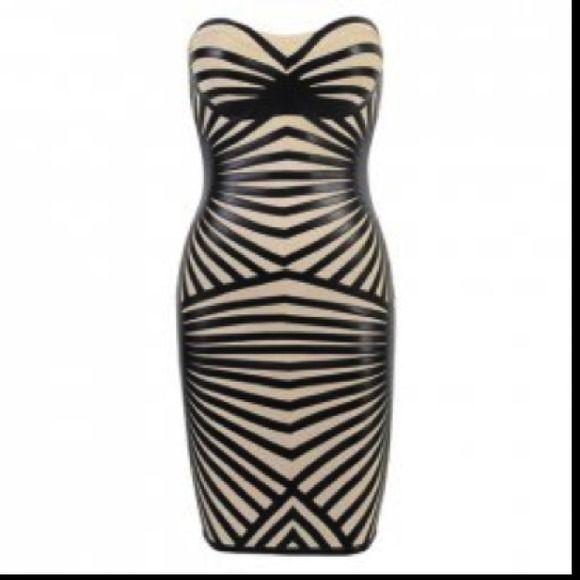 """Spotted while shopping on Poshmark: """"Sexy Strapless Bandage Dress""""! #poshmark #fashion #shopping #style #Dresses & Skirts"""