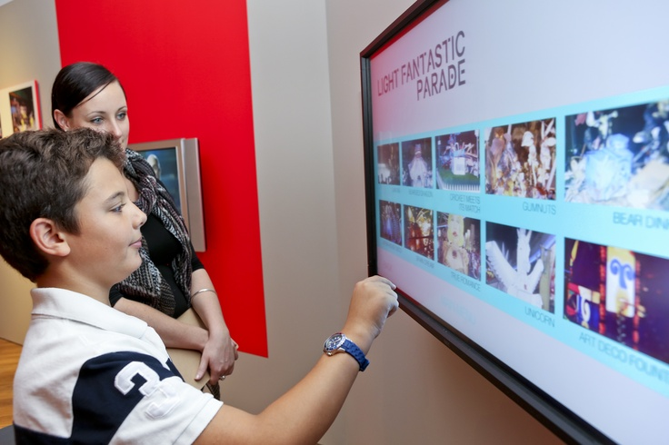 Interactive features in our gallery