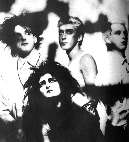 Robert, Budgie, Steve, Siouxsie  (Photographer Anton Corbijn) Hyaena
