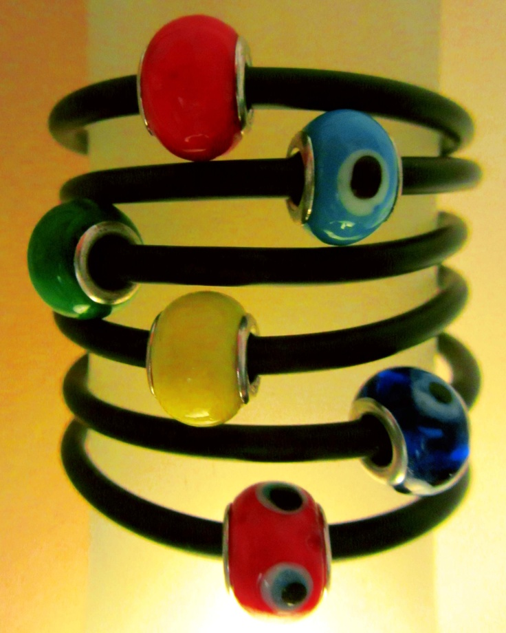 Evil eye color bracelets
