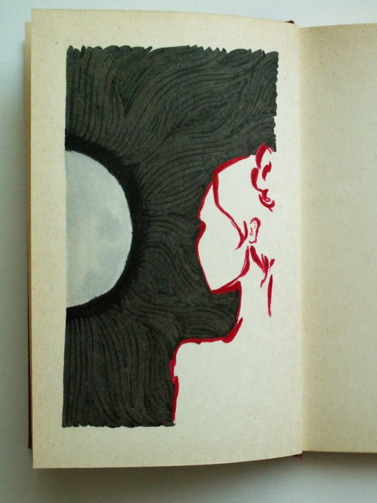 poetry illustration by monocore mncore.tumblr.com   #illustration #drawing #poerty