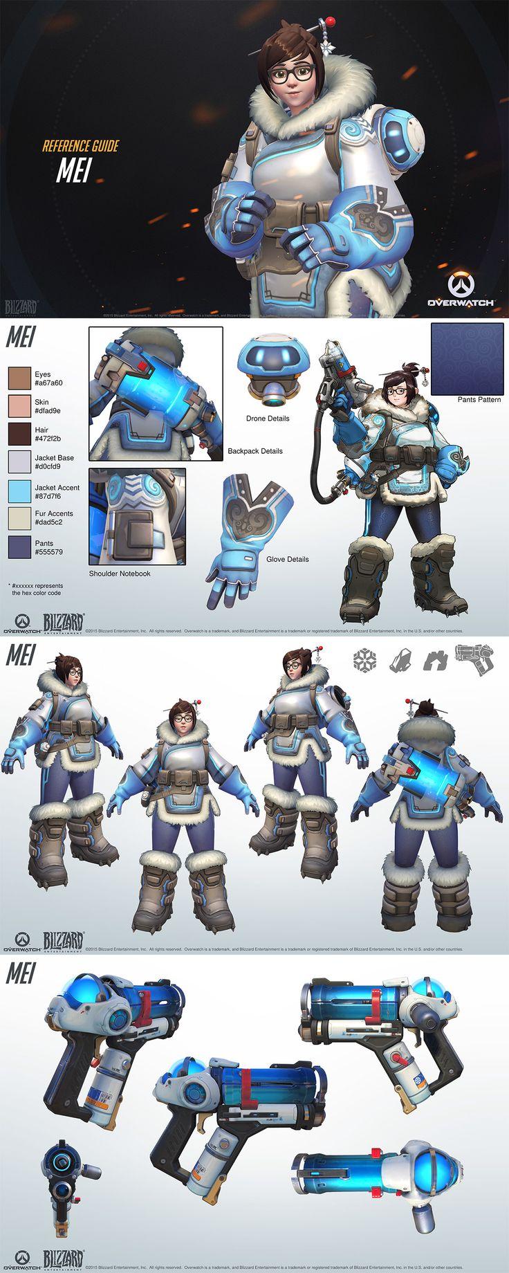 Overwatch character Mei