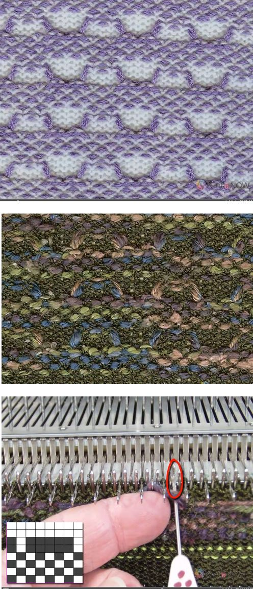 Awesome knitweave tute from Knit It Now