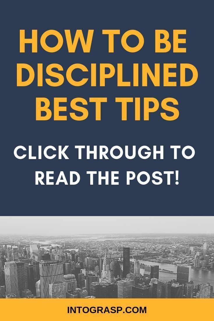 How to Be Disciplined in Life. How to Improve Self…
