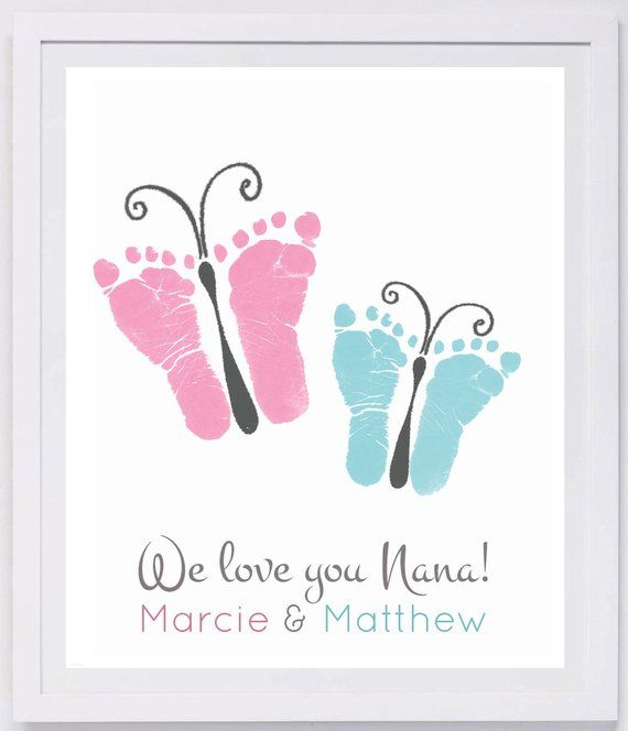 This keepsake is made from your loved one's actual hand and footprints! Keepsa…