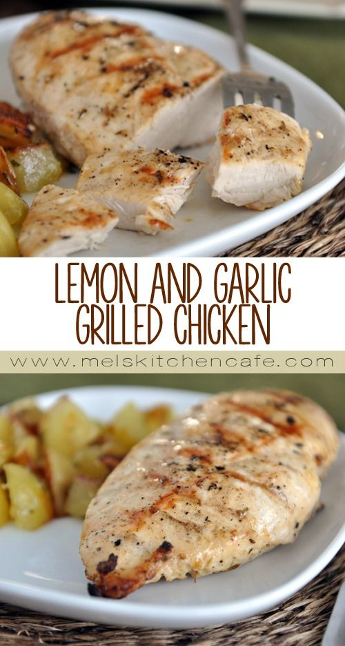 This Lemon and Garlic Grilled Chicken will rock your world. It is amazing.