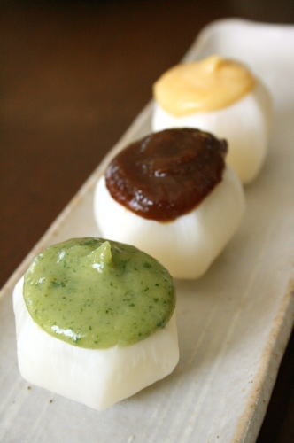 Japanese Spring Turnip with Three-type Dengaku Miso (Vegan)|カブの田楽
