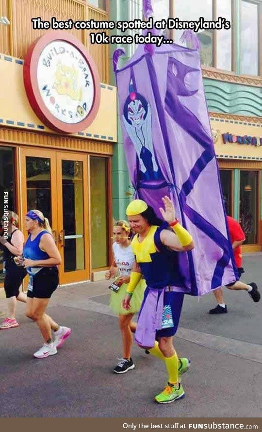 Pretty impressive Disney costume