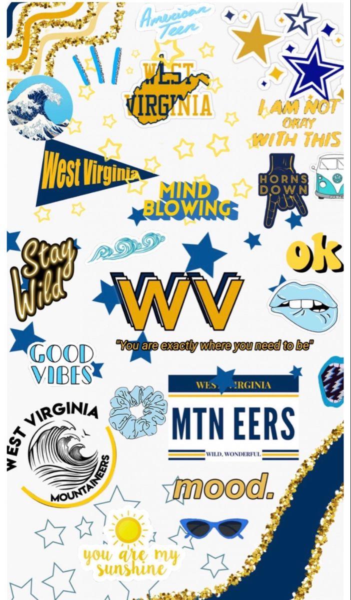 West Virginia University Collage Phone Wallpaper Wallpaper Wallpaper S [ 1200 x 702 Pixel ]