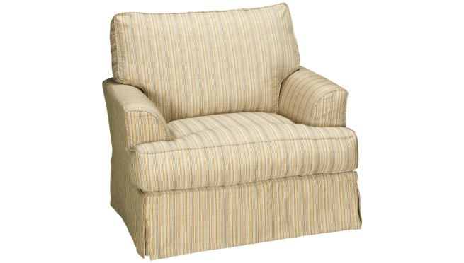 Synergy Montague Chair with Slipcover Chairs and