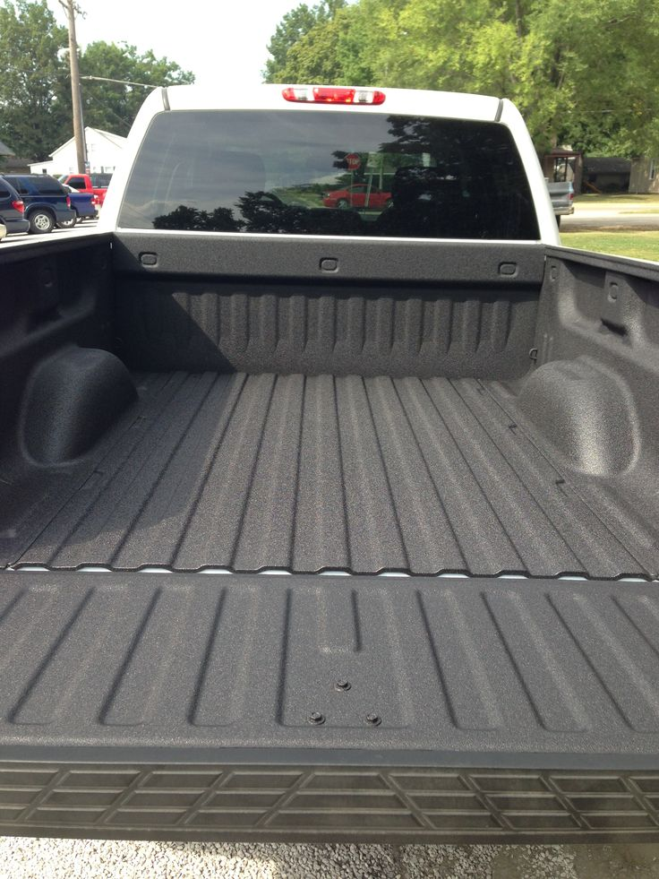 Spray In Bedliner '13 Silverado