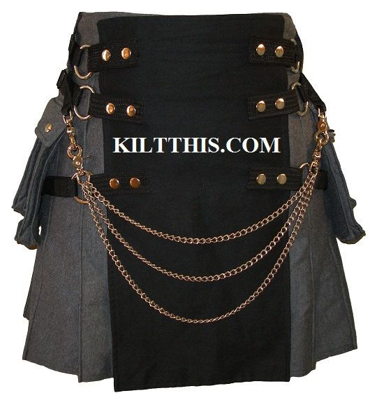 Utility Kilt Chains by Kilt This for Utility kilts of all Brands on Etsy, $25.00