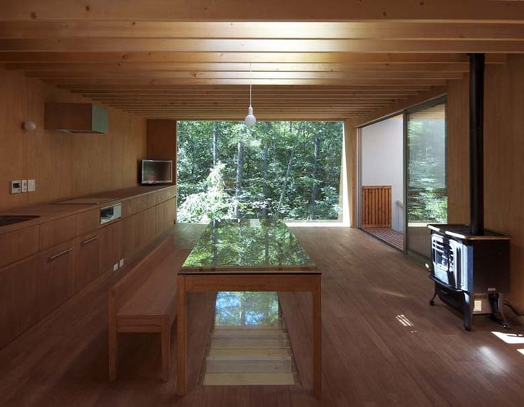 'Pilotis in a Forest' house by Go Hasegawa