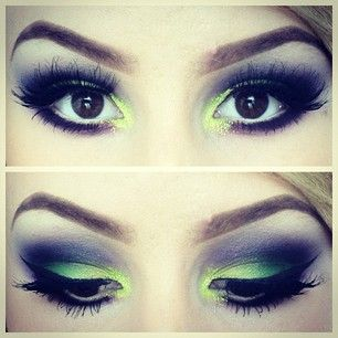 This makeup look is so beautiful! I love the colors! My favorite site For best makeup brand: http://www.envyderm.com