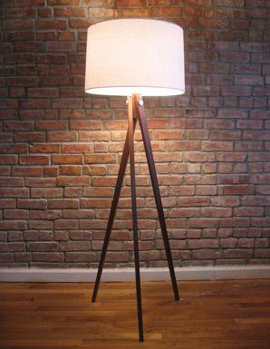 tripod lamp by KWH furniture design.