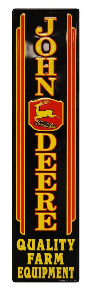 John Deere Vintage Metal Sign