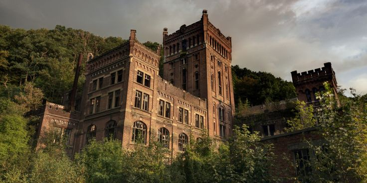 Abandoned Buildings Are Brought To Life In Stunning Photo Series