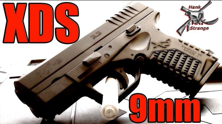 Hank Strange Springfield Armory XDS 9mm Sub Compact Gun Table Top Review...