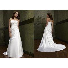 A-Line Princess Strapless Wedding Dress for R2,000.00