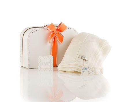 Gorgeous Uimi Australian made 100% merino wool classic white baby blanket - Baby Blanket Winter Kit - The It Kit