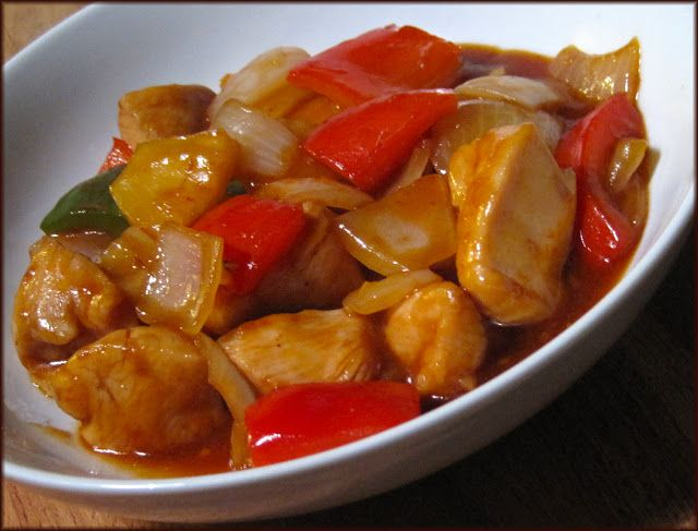 A Glug of Oil: Chinese Sweet and Sour Chicken Recipe