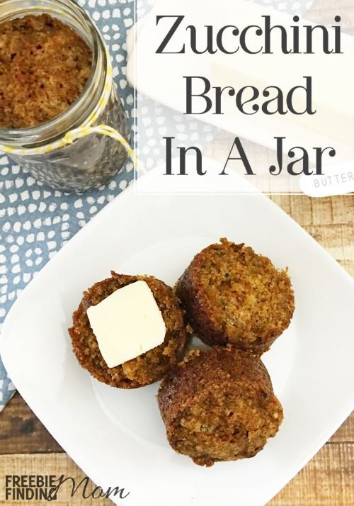 Need easy, thoughtful, inexpensive DIY gift ideas? Bread gifts in a jar are perfect for nearly everyone for most any occasion (Christmas, Birthdays, Valentine's Day, Teacher Appreciation Day, Mother's Day, Father's Day, and Grandparents Day), and there are lots of bread in a jar recipes to choose from like this zucchini bread in a jar recipe. Other Mason jar recipes you may consider include pumpkin bread, banana bread, apple bread, cornbread and monkey bread. Enjoy!