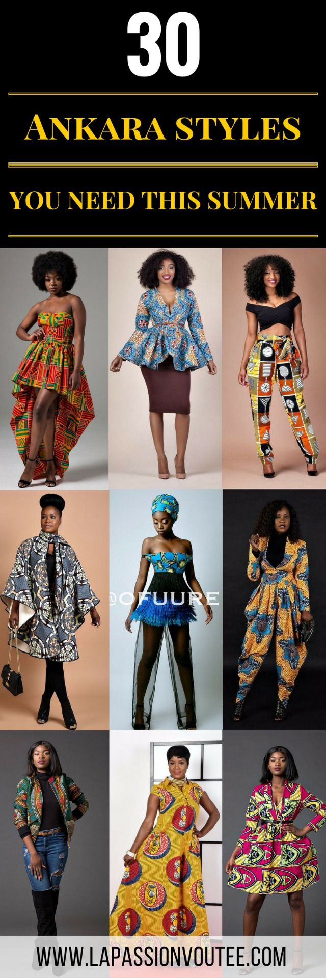 30 Stylish Ankara Styles to Try Right Now. If you are searching for some of the hottest styles this season, you need to read this article to discover some of the most stunning Ankara dresses, skirts, tops, and pants. African print   Nigerian Fashion   African Fashion   African print dresses   African dresses   Dashiki Dress   African clothing   Dashiki skirt   African dress styles   African dress   African attire.
