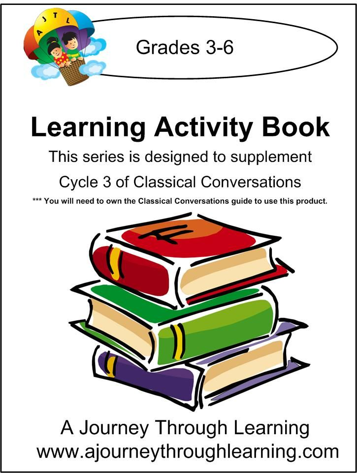 Classical Conversations Cycle 3 Learning Activity Book Weeks 1-24 grades 3-6