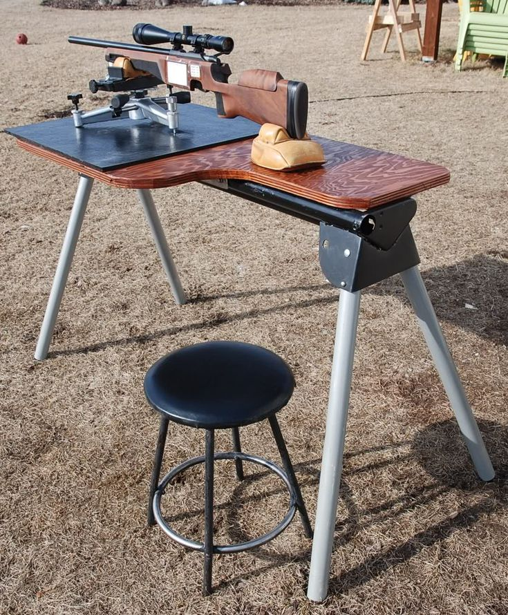 1000 Ideas About Shooting Bench On Pinterest Portable Shooting Bench Shooting Bench Plans