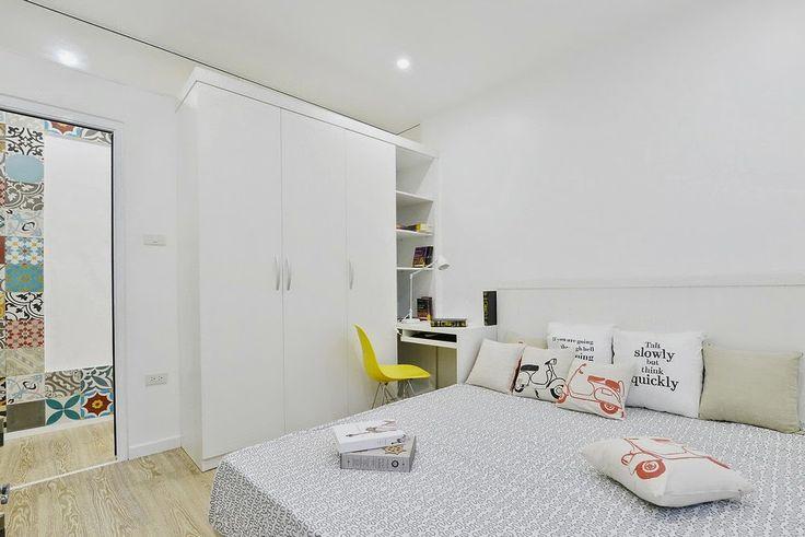 Hálószoba egy szép otthonban