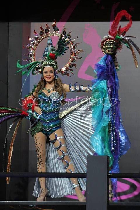 Paulette Samayoa Miss Guatemala Universo 2013 National Custome Miss Universe 2013