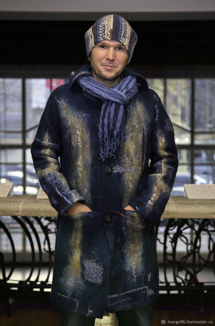 """пальто валяное """"Лабрадор"""" – купить или заказать в интернет-магазине на Ярмарке Мастеров   Самое удачное цветовое решение, которое никого не…"""