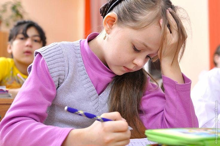 Задумчивые дети на уроке в школе, прикольные фото детей в школе