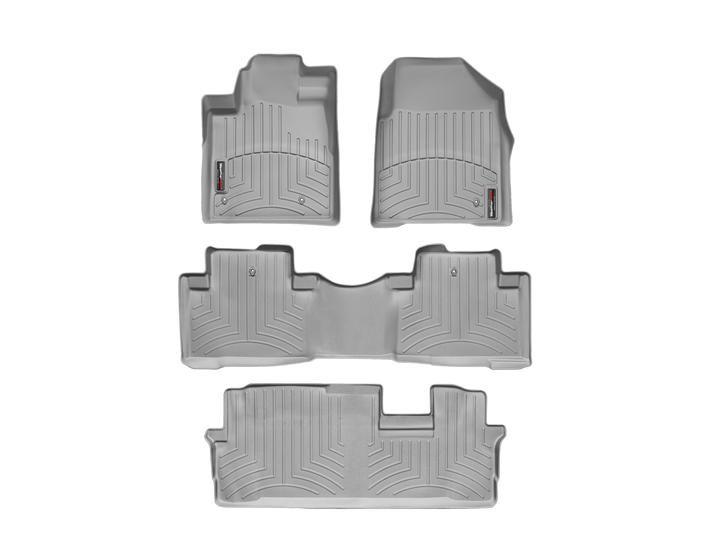 2014 Honda Pilot | WeatherTech FloorLiner custom fit car floor protection from mud, water, sand and salt. | WeatherTech.com