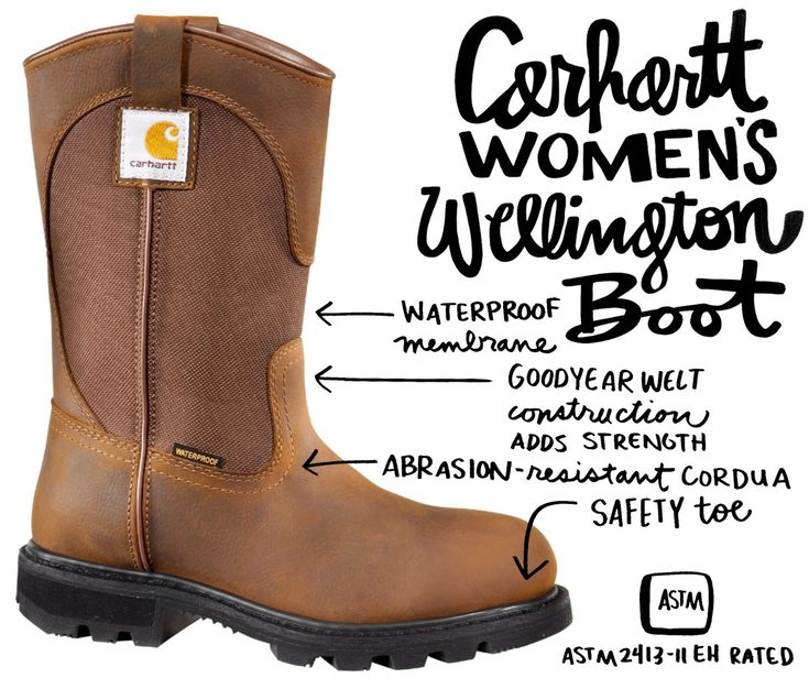 Carhartt Women's Wellington Boot