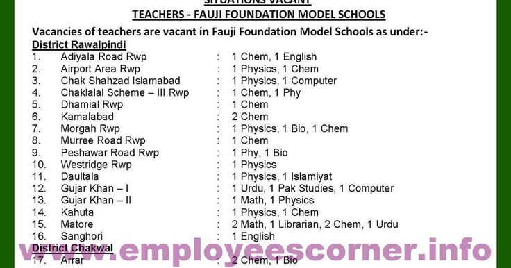Jobs Location of Fauji Foundation Schools Schools List of Fauji Foundation Jobs Today News Papers Jobs in Pakistan  Newspapers Jobs in Pakistan 2017  Govt Jobs in Pakistan  Teaching Jobs in Pakistan  Teaching Faculty Jobs  Subject Specialist Jobs in Fauji Foundation Elementary Teachers Jobs in Fauji Foundation  Latest Teaching Jobs in Schools Schools Teaching Jobs in Fauji Foundation