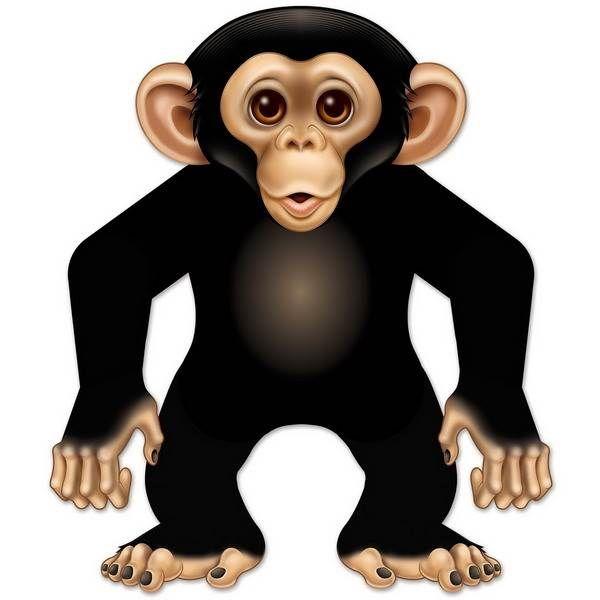 Decoratie aap groot