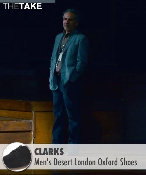 Clarks Men's Desert London Oxford Shoes inspired by Joel Pforzheimer in Steve Jobs   TheTake