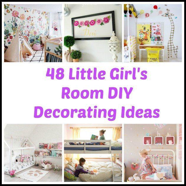 24 Luxury Diy Little Girl Room Decor In 2020 Girls Bedroom Makeover Diy Little Girls Room Bedroom Makeover Diy