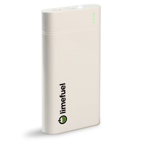 USB External Battery Pack Charger with built-in Flashlight for iPhone 5S, 5C, 5, 4S, 4, iPad Mini, iPods; Samsung Galaxy S4, S3, S2, Note 2; HTC One, EVO, Thunderbolt, Incredible, Droid DNA; Motorola Moto X, ATRIX, Droid; Google Nexus 4, LG Optimus Our largest capacity battery yet! Speed charging 2A input significantly shortens charging time; Limefuel Blast batteries can charge twice as fast as ot... #Limefuel #Wireless