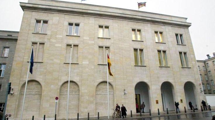 Dienstsitz der Bundesministerin fuer Gesundheit u.Soziale Sicherung Ulla Schmidt,in Mitte.Frueher Josef Goebbels Propagandaministerium.....