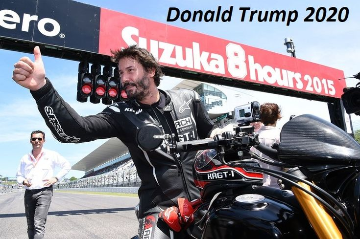 """Keanu Reeves: """"For Me Trump Is The Symbol Of A Successful Man And A Role Model For Every Young American, Something That Our Nation Was Looking For Years.I Don't Think That America Will Again Have A Leader Like Him"""". President Donald Trump has a """"huge"""" list of supporters starting from celebrities of different areas to sports figures and politicians. Keanu Reeves in one of the biggest Donald Trump supporter there..."""